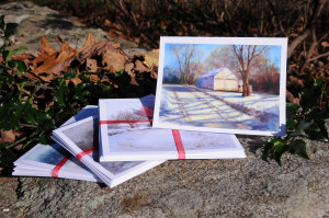 SANDY SMITH BARN NOTECARDS