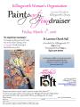 Paint Party Fundraiser